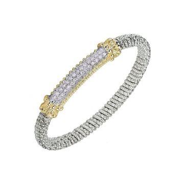 Vahan 14k Yellow Gold & Sterling Silver Bracelet