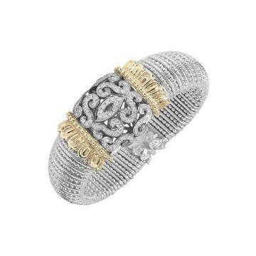 Vahan 14k Yellow Gold & Sterling Silver Diamond Bracelet