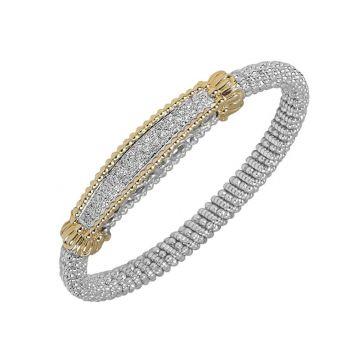 Vahan 14k Yellow Gold Pave Diamond Bracelet