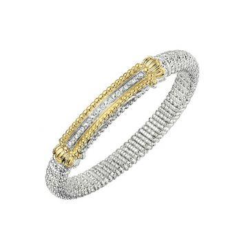 Vahan 14k Yellow Gold & Sterling Silver Lolite Bracelet