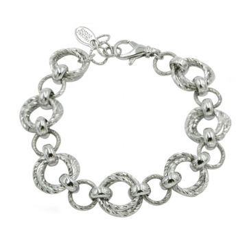 Frederic Duclos  Sterling Silver Tangee Bracelet