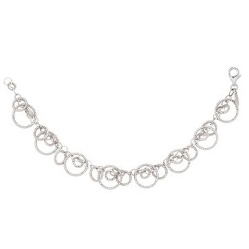 Frederic Duclos  Sterling Silver Circulation Bracelet