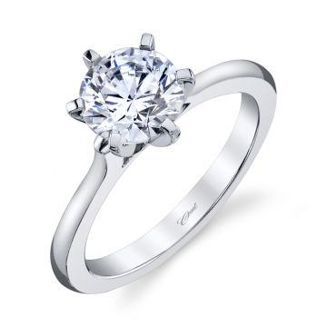 Coast Diamond 14k White Gold 1.5ct Solitaire Engagement Ring