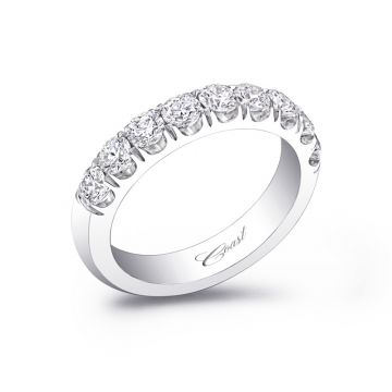 Coast 14k White Gold 1.00ct Diamond Wedding Band