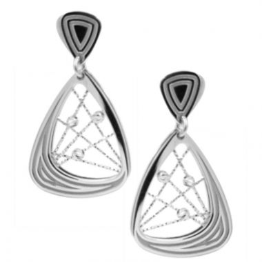 Frederic Duclos  Sterling Silver Madelaine Earrings