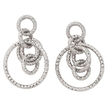 Frederic Duclos  Sterling Silver 6 Ring Earring