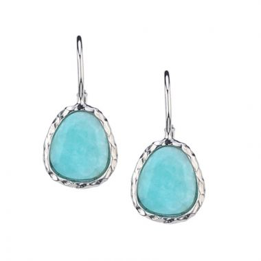 Frederic Duclos  Sterling Silver Amazonite Kathy Earring