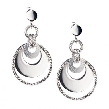 Frederic Duclos  Sterling Silver Jenny Earrings