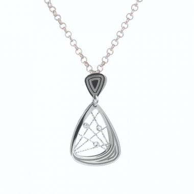 Frederic Duclos  Sterling Silver Madelaine Necklace