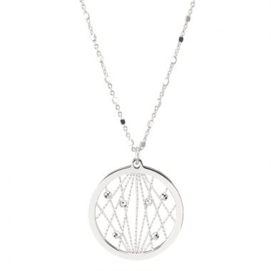 Frederic Duclos  Sterling Silver Milky Way Necklace