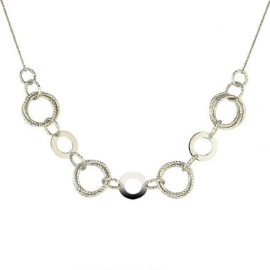 Frederic Duclos  Sterling Silver Isla Necklace