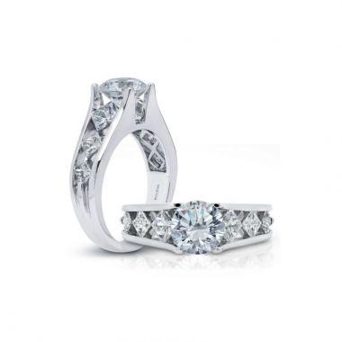 Peter Storm 14k White Gold Diamond Engagement Ring